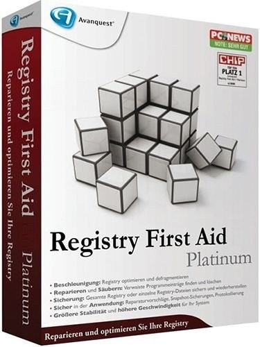 Registry First Aid Platinum 9.3.0 Build 2207 (2014) + Portable by Valx