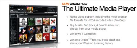 Winamp PRO 5.57 Build 2789 FINAL + Winamp Essentials Pack (2014) PC