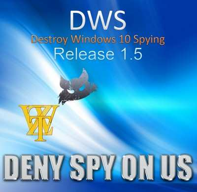 Destroy Windows 10 Spying 1.5.0 Build 648 Portable - уберет модули-шпионы с Windows 10