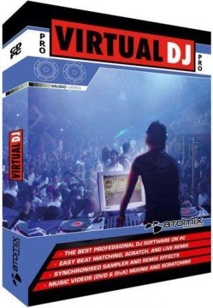 Virtual DJ Pro v.7.4.1 Build 482 (Cracked)